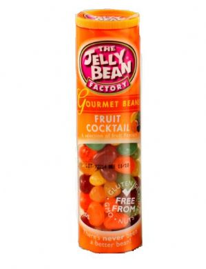The Jelly Bean Factory Fruit Cocktail Jelly Beans 100g Tube